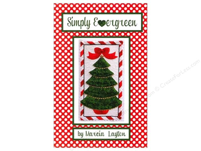 Marcia Layton Designs Simply Evergreen Pattern