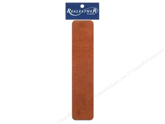 Silver Creek Leather Suede Strip 1 1/2 x 42 in. Medium Brown