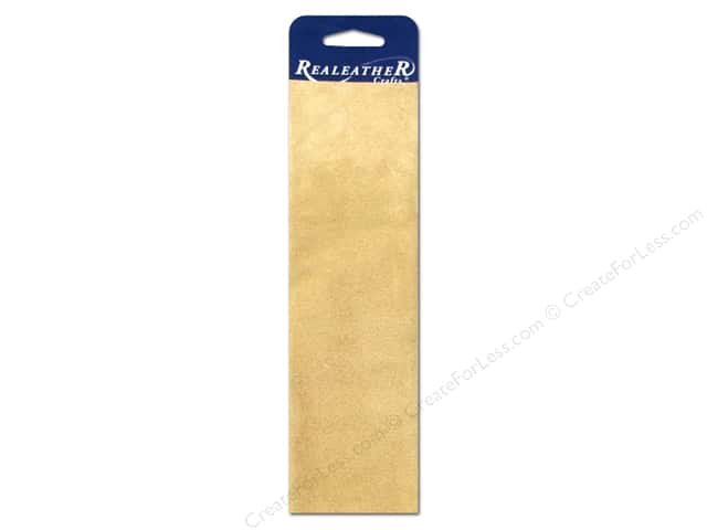 Silver Creek Leather Suede Trim Piece 8 1/2 x 11 in. Beige