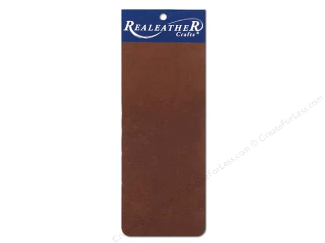 Silver Creek Leather Deertan Trim Piece 9 x 3 in. Brown