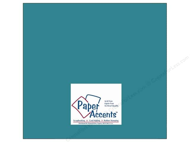 Cardstock 12 x 12 in. #10075 Stash Builder Lagoon by Paper Accents (25 sheets)