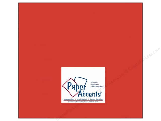 Paper Accents Cardstock 12 x 12 in. #10082 Stash Builder Allspice (25 sheets)