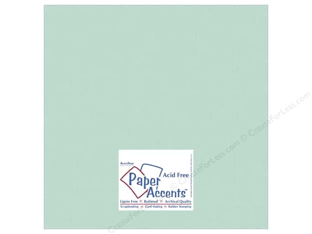 Cardstock 12 x 12 in. #10108 Stash Builder Tranquil by Paper Accents (25 sheets)