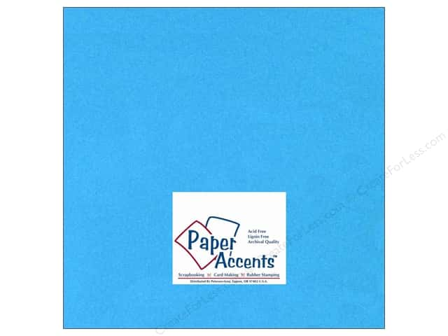 Paper Accents Cardstock 12 x 12 in. #115 Smooth Teal (25 sheets)