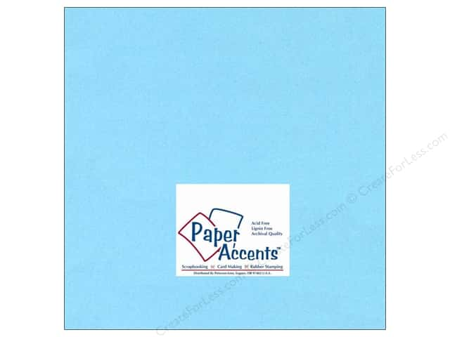 Paper Accents Cardstock 12 x 12 in. #116 Smooth Light Blue (25 sheets)