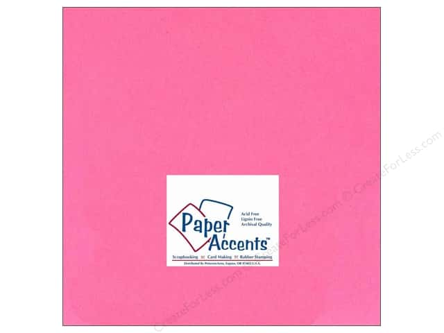 Paper Accents Cardstock 12 x 12 in. #130 Smooth Rose (25 sheets)