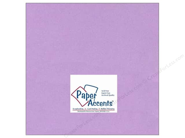 Paper Accents Cardstock 12 x 12 in. #131 Smooth Lilac (25 sheets)