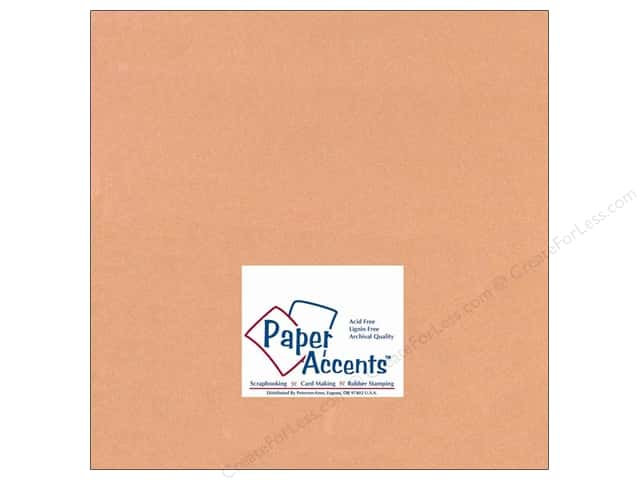 Paper Accents Cardstock 12 x 12 in. #133 Smooth Carmel (25 sheets)