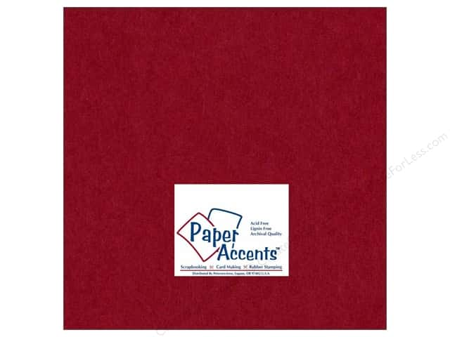 Paper Accents Cardstock 12 x 12 in. #163 Smooth Chili (25 sheets)