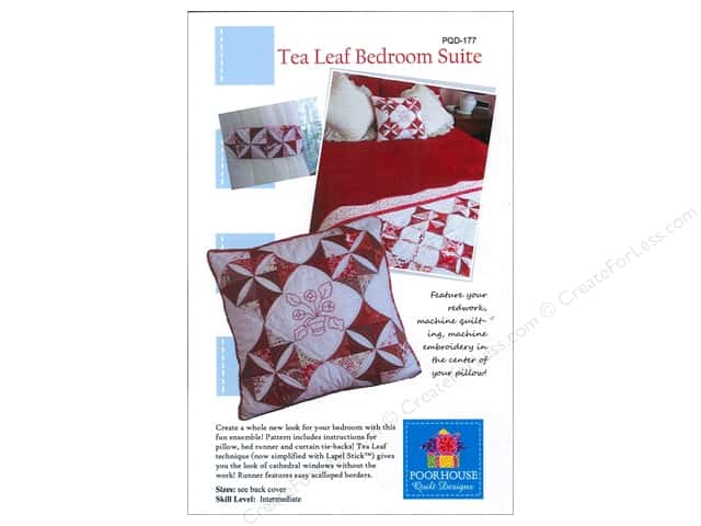 Poorhouse Quilt Designs Tea Leaf Bedroom Suite Pattern