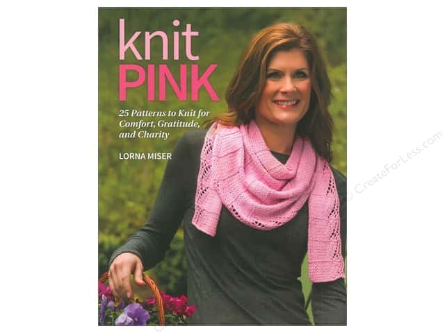 That Patchwork Place Knit Pink Book by Lorna Miser