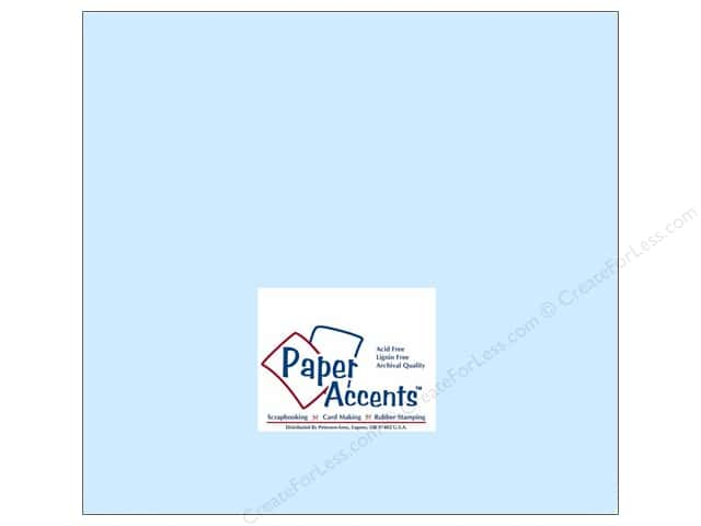 Paper Accents Cardstock 12 x 12 in. #170 Smooth Baby Blue (25 sheets)