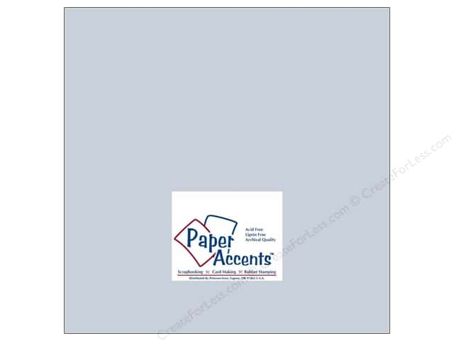 Paper Accents Cardstock 12 x 12 in. #181 Stash Builder Pale Blue (25 sheets)