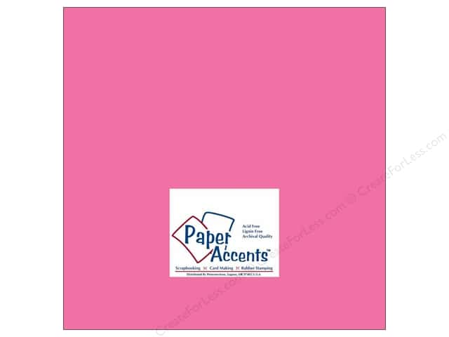 Paper Accents Cardstock 12 x 12 in. #183 Stash Builder Azalea (25 sheets)