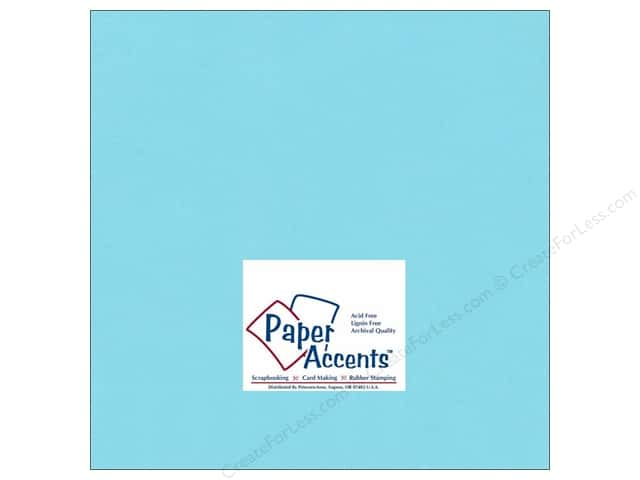 Cardstock 12 x 12 in. #188 Smooth Splash by Paper Accents (25 sheets)