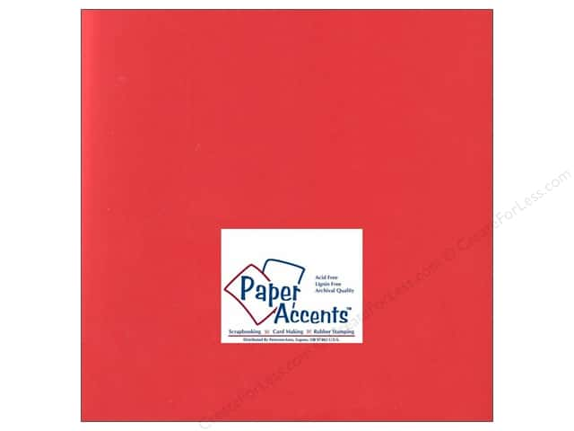 Paper Accents Cardstock 12 x 12 in. #194 Smooth Fiesta (25 sheets)