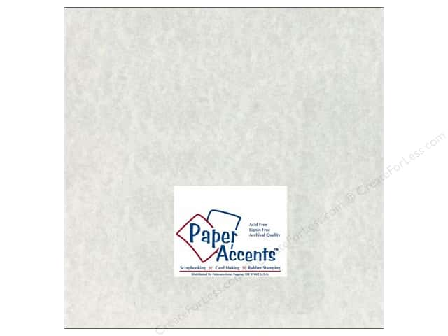Paper Accents Cardstock 12 x 12 in. #204 Parchment Grey (25 sheets)