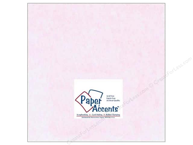 Paper Accents Cardstock 12 x 12 in. #206 Parchment Pink (25 sheets)