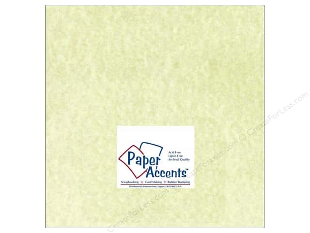 Cardstock 12 x 12 in.  #207 Parchment Green by Paper Accents (25 sheets)
