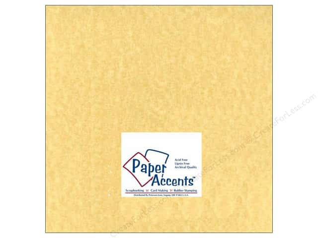 Paper Accents Cardstock 12 x 12 in. #211 Parchment Ancient Gold (25 sheets)