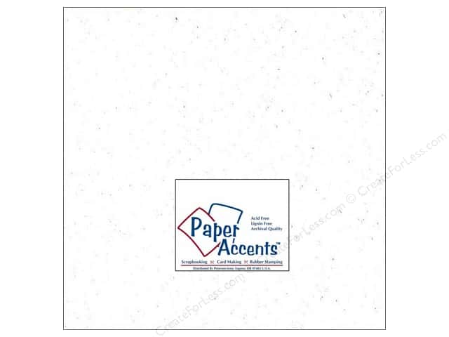 Paper Accents Cardstock 12 x 12 in. #301 Recycled Snow (25 sheets)