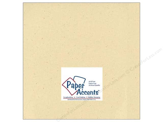 Paper Accents Cardstock 12 x 12 in. #305 Recycled Husk (25 sheets)