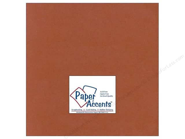Cardstock 12 x 12 in. #319 Recycled Paprika by Paper Accents (25 sheets)