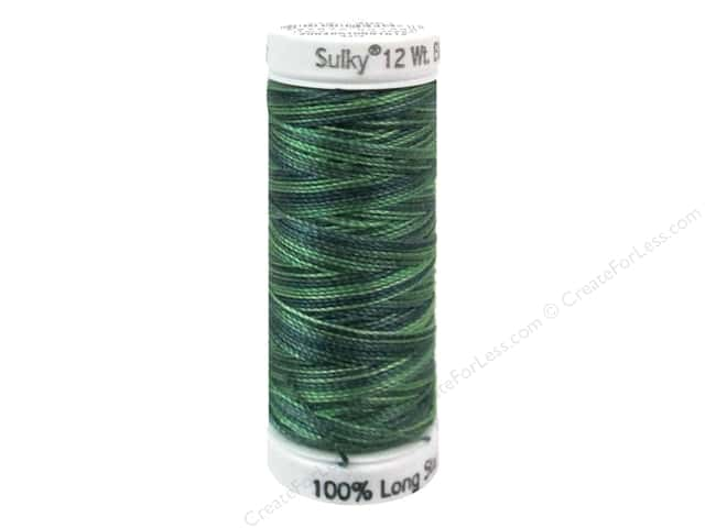 Sulky Cotton Thread Petites Blendables 12wt 50yd Forever Green