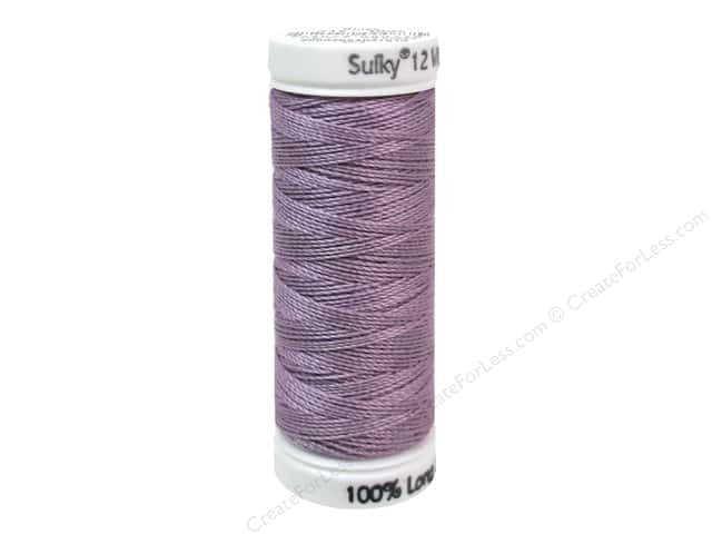 Sulky Cotton Thread Petites 12wt 50yd Medium Purple