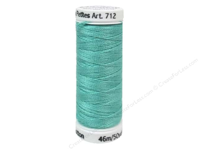Sulky Cotton Thread Petites 12wt 50yd Teal
