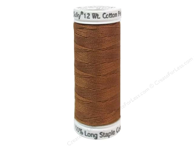 Sulky Cotton Thread Petites 12wt 50yd Medium Tawny Tan