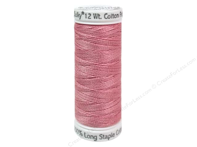 Sulky Cotton Thread Petites 12wt 50yd Light Pink