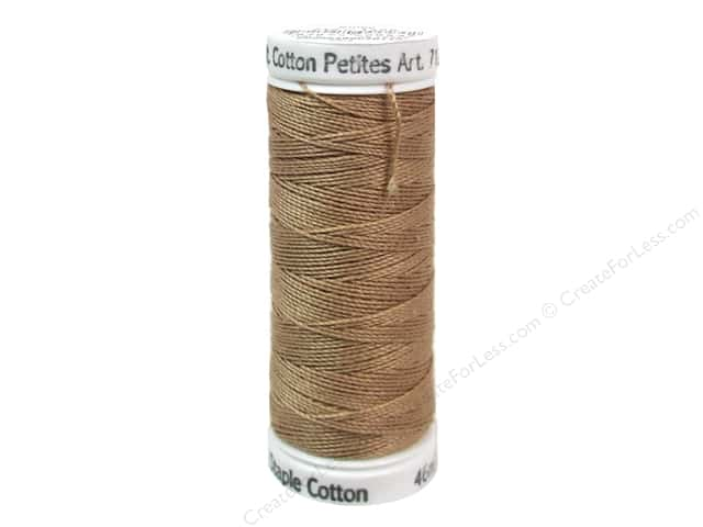 Sulky Cotton Thread Petites 12wt 50yd Dark Ecru