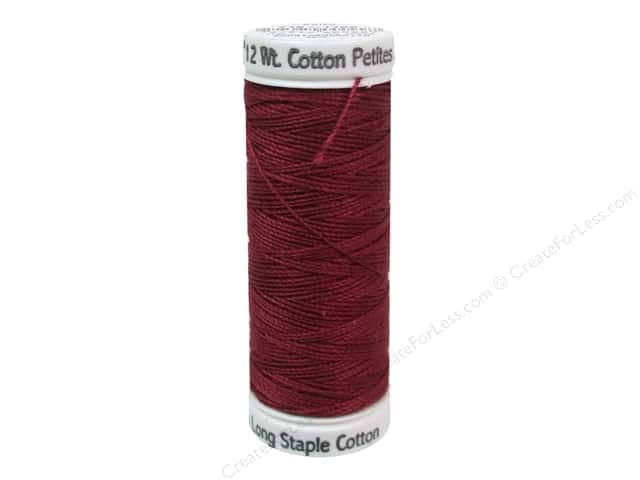 Sulky Cotton Thread Petites 12 wt Bayberry Red