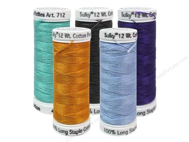 Sulky Cotton Thread Petites 12wt 50yd