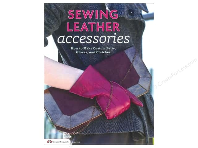 Design Originals Sewing Leather Accessories Book