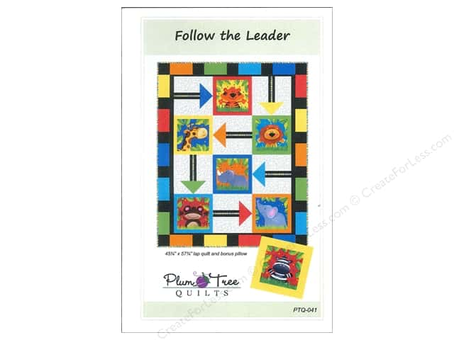 Plum Tree Quilts Follow The Leader Pattern