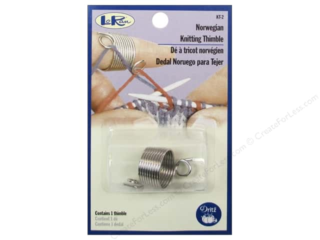 LoRan /Dritz Thimble Knitting Norwegian