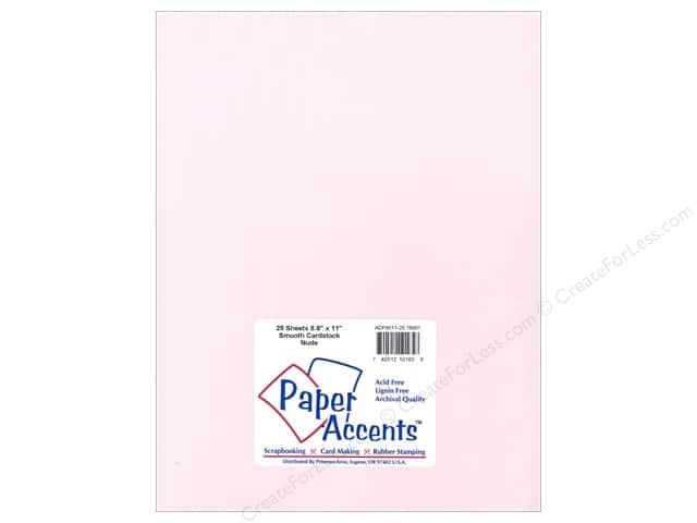 Paper Accents Cardstock 8 1/2 x 11 in. #18061 Smooth Nude (25 sheets)