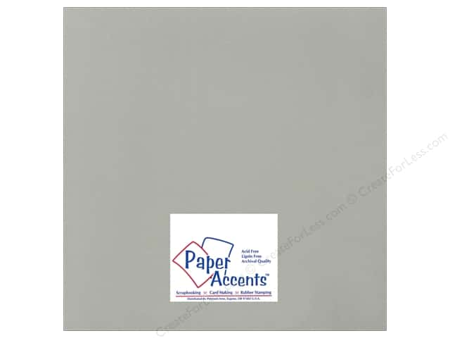 Cardstock 12 x 12 in. Ultra Matte Taupe by Paper Accents (25 sheets)