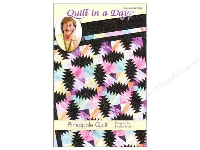 Quilt In A Day Pineapple Quilt Pattern
