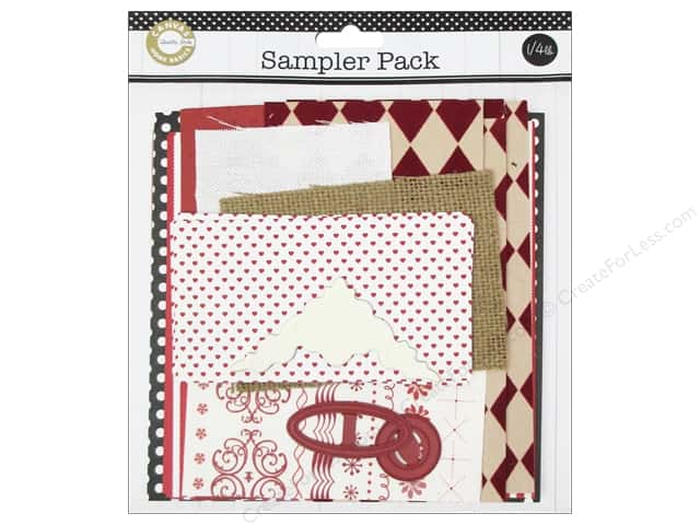 Canvas Corp Embellishment Sampler Packs Red