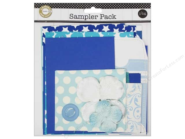 Canvas Corp Embellishment Sampler Packs Blue