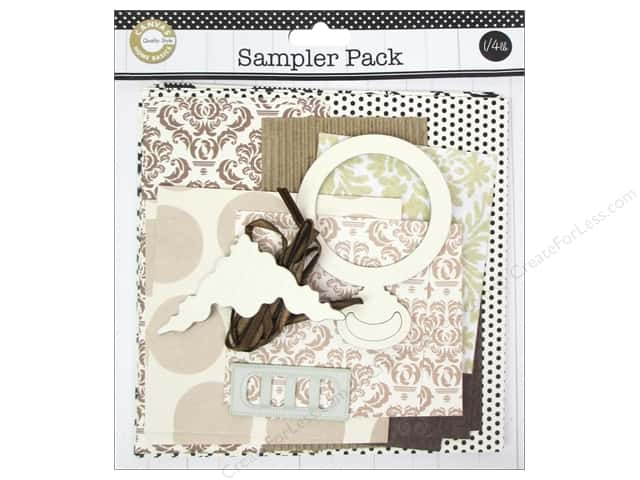 Canvas Corp Embellishment Sampler Packs Light Neutral