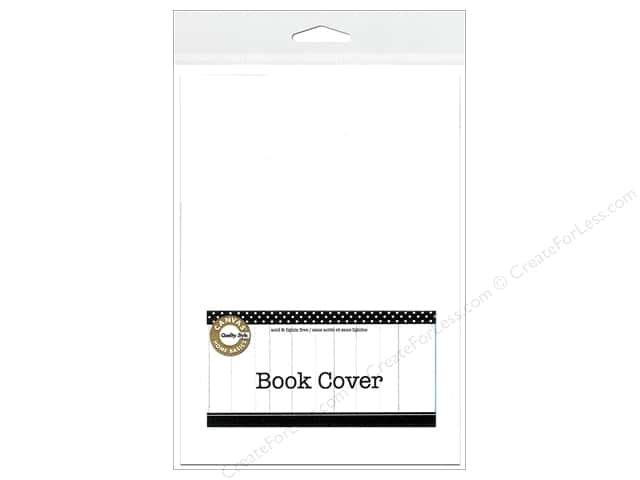 Canvas Corp Book Cover 5 x 7 in. White