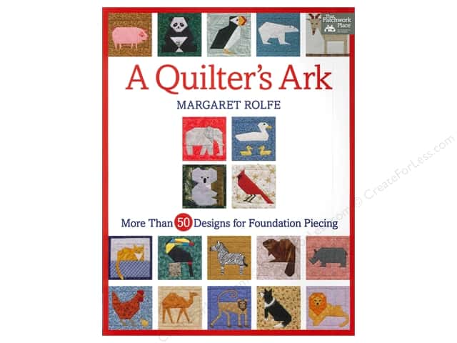 That Patchwork Place A Quilter's Ark Book by Margaret Rolfe