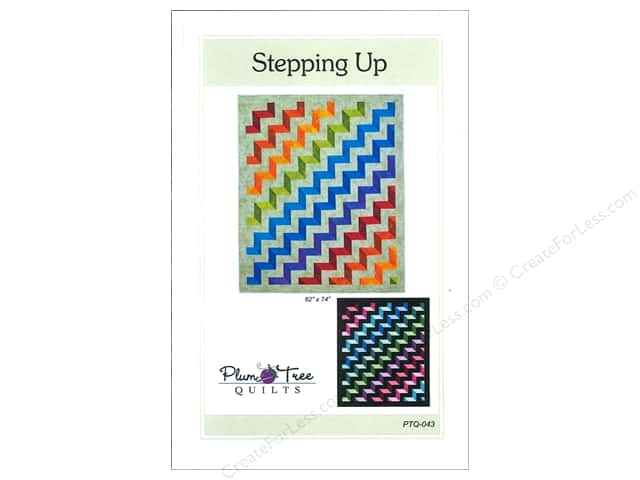Plum Tree Quilts Stepping Up Pattern