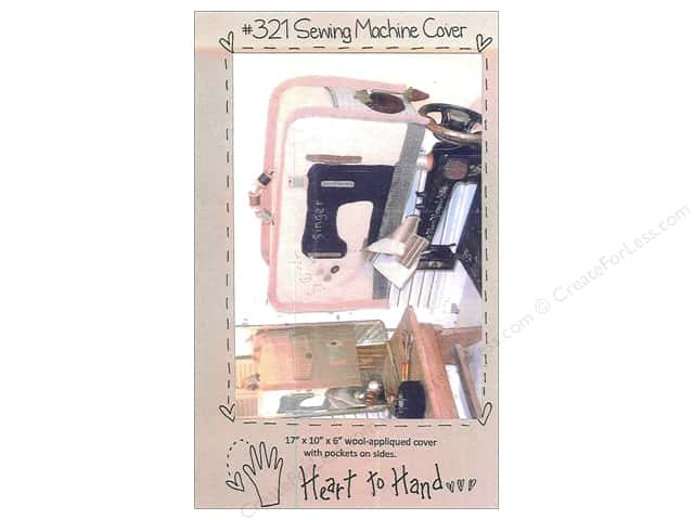 Heart To Hand Sewing Machine Cover Pattern