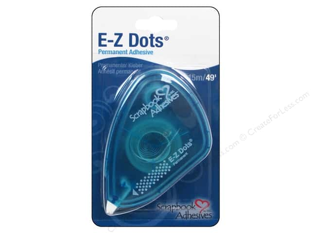 3L Scrapbook Adhesives E-Z Dots 49 ft. Permanent