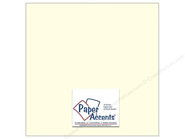 Paper Accents Cardstock 12 x 12 in. #702 Textured Natural (25 sheets)